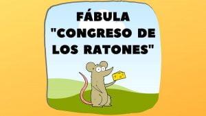 Fábula El congreso de ratones