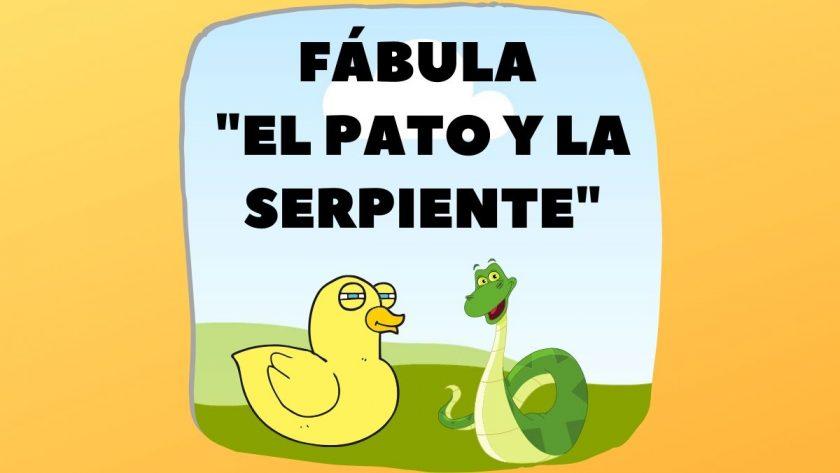 Fabula El Pato y La Serpiente