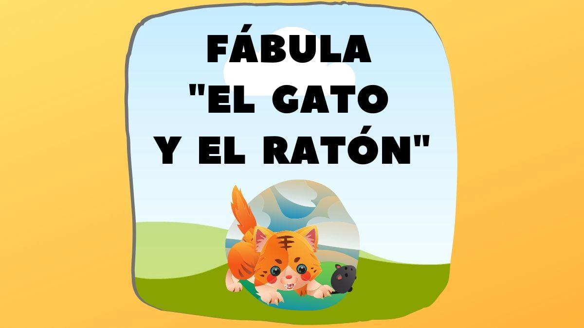 Fábula El Gato Y El Ratón Fábulas De La Fontaine