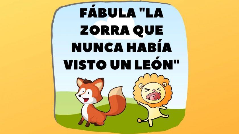 Fabula la Zorra y el Leon