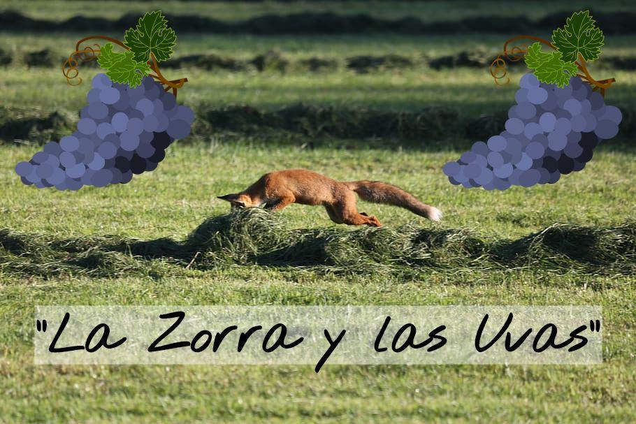 Fábula La Zorra y las Uvas